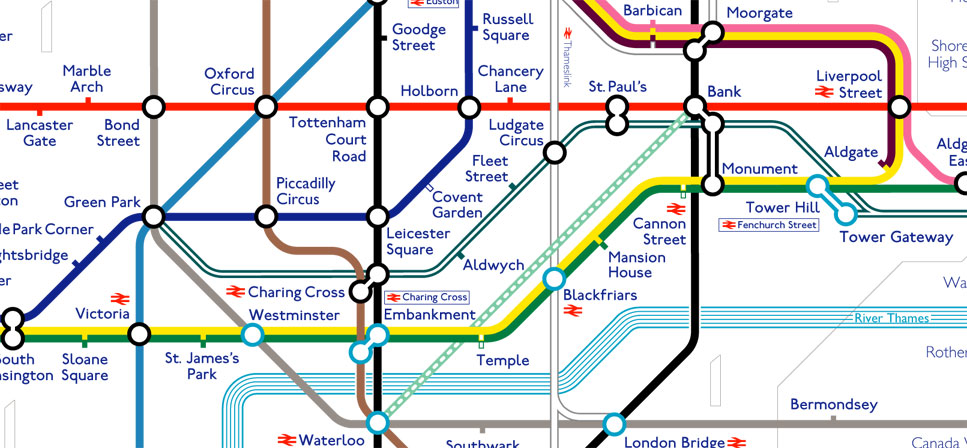 Tube Map AlexD Old Blog - London dlr map
