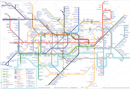 A map including all info required by TfL and more