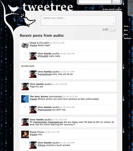 audio-tweetree
