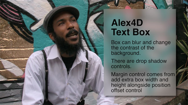 Free Final Cut Pro X Effect Alex4d Text Box Alex4d Old Blog