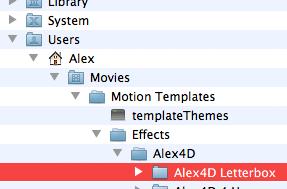 Free Final Cut Pro plugin: Alex4D Letterbox effect | alex4D