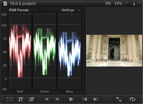 how to make a grid in final cut pro