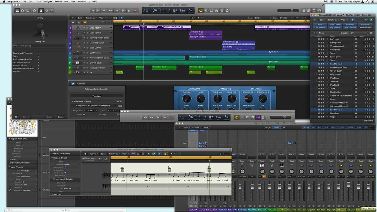 logic pro x diagram wiring diagram ops  logic pro x diagram #4
