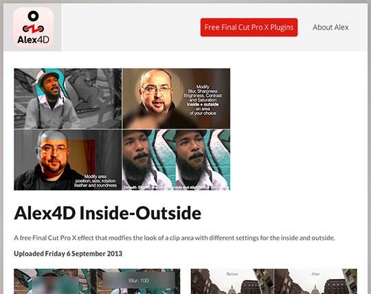 Alex4D-website