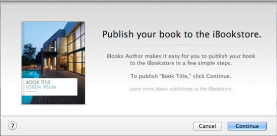 publish-to-iBookstore